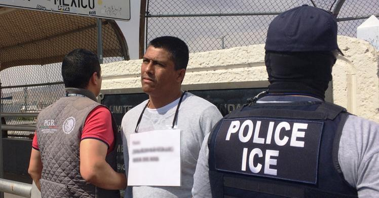 Juan Humberto Collazo Sanchez, 39, was turned over to Mexican authorities at the top of the Stanton International Bridge.