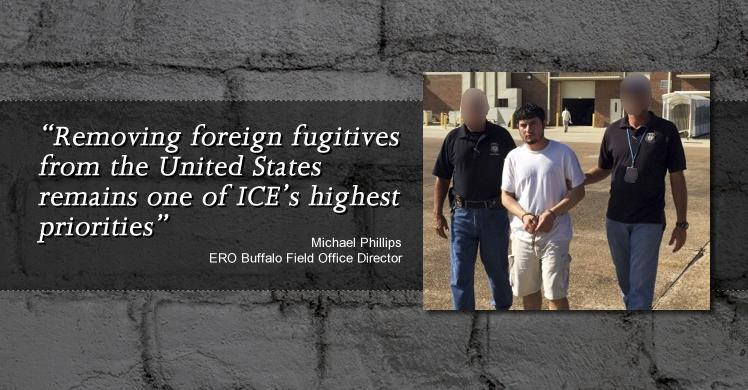 Removing foreign fugitives from the US remains one of ICE's highest priorities