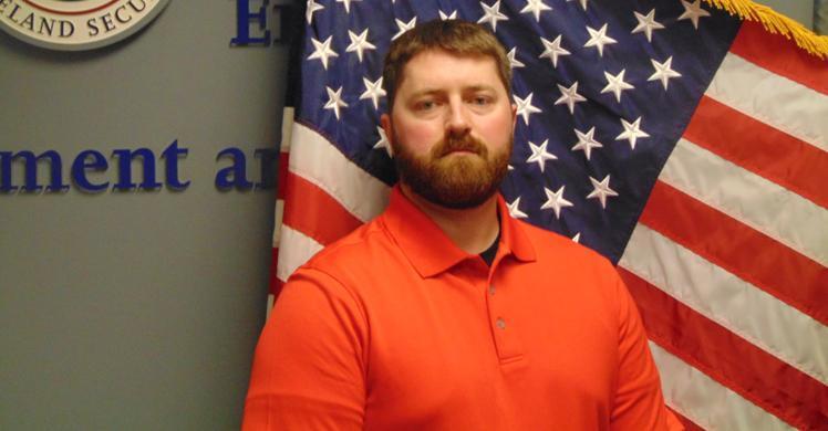 ERO Intern goes home for Veterans Day