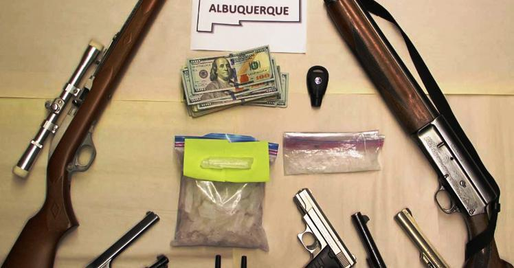 NM man pleads guilty to violating federal firearms, drug trafficking laws