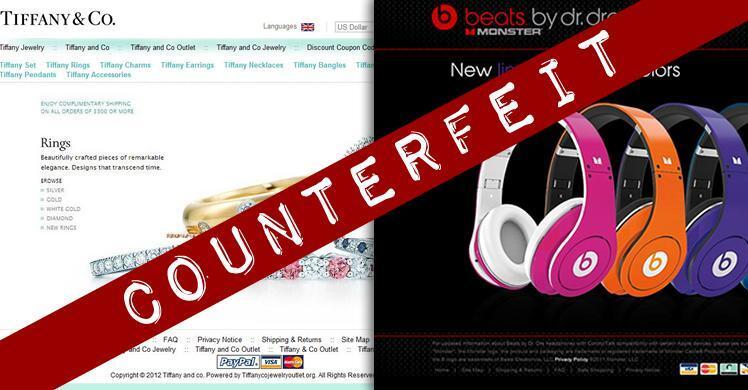 Counterfeit Websites