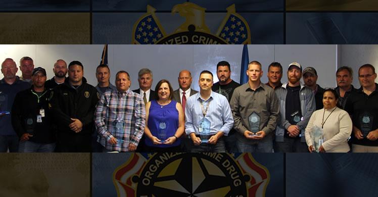RAC St. Louis' Missouri Gateway Task Force receives 2016 OCDETF Director's Award