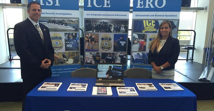 ICE Los Angeles attends major recruiting event