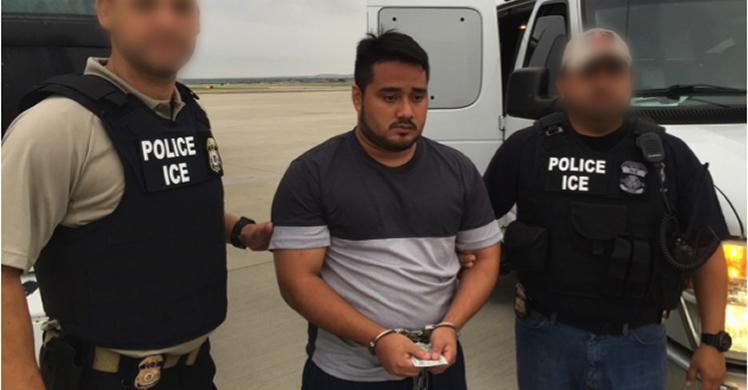 South Texas ICE officers remove Salvadorian man wanted for aggravated homicide