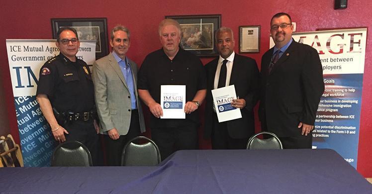 Houston-area restaurant joins ICE 'IMAGE' program