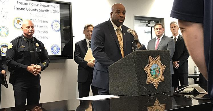 Multiagency probe targeting suspected drug and firearms trafficking by Fresno-area street gang results in more than 2 dozen arrests
