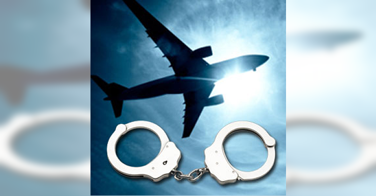 Flight attendant charged in federal court with airport security violations