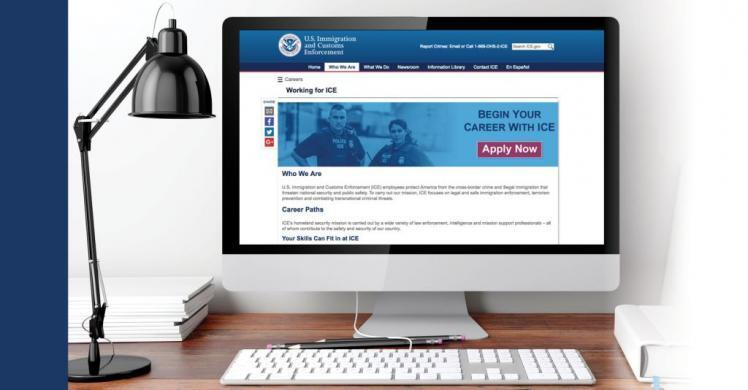 ICE launches new careers web content, Twitter feed to attract applicants