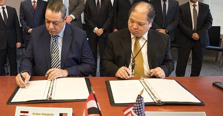 ICE and Egyptian Administrative Control Authority sign Memorandum of Understanding