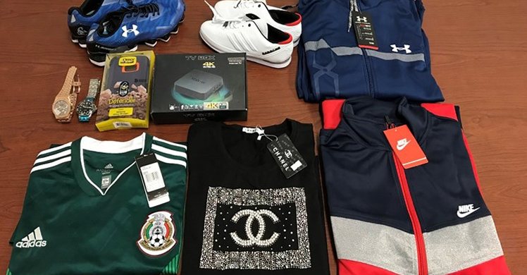 ICE, CBP seize nearly 79,000 counterfeit items in South Texas valued at $16 million