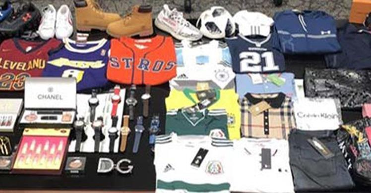 ICE seizes 181,000 counterfeit items worth nearly $43 million in Laredo, Texas