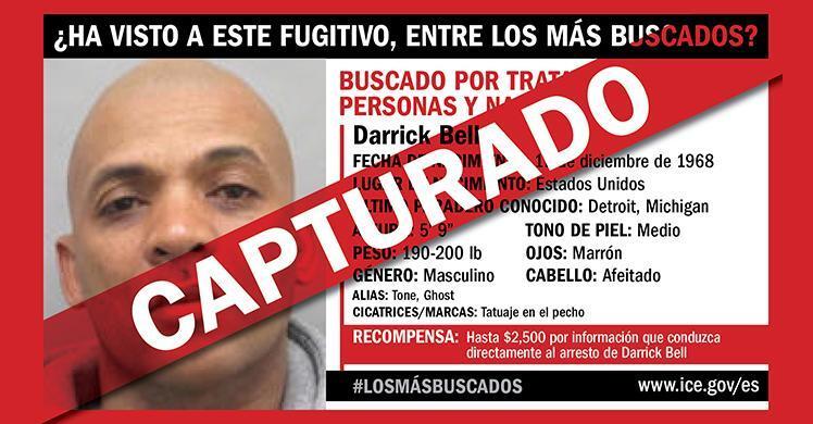 Persecución de casi 3 años termina en arresto de uno de los prófugos más buscados por ICE HSI