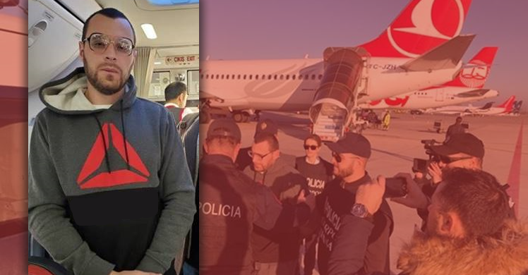 ICE removes Albanian national wanted to serve a 25-year prison sentence in his home country