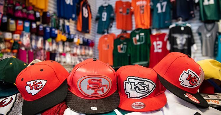ICE HSI, CBP operation seizes record-breaking $123 million of fake sports merchandise