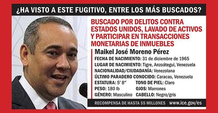 Maikel José Moreno Pérez