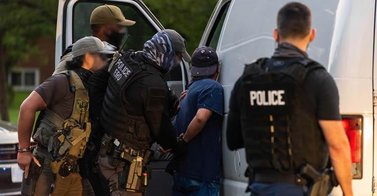ICE announces results of latest operations targeting criminal aliens