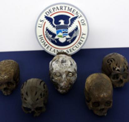 ICE returns tribal artifacts to Indonesian authorities