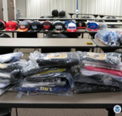 c4aa213eb11 HSI seizes nearly 800 counterfeit sports team hats