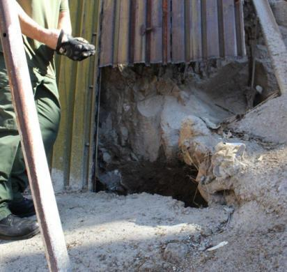 Nogales Tunnel Task Force shuts down cross-border tunnel