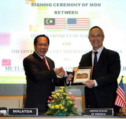DHS, Malaysia sign memorandum of cooperation enhancing customs information-sharing