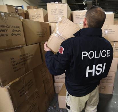 New York-area charities receive 30,000 jackets following seizures by ICE HSI