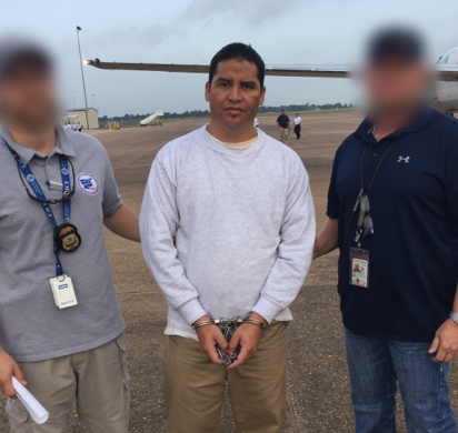 ICE removes MS-13 gang leader, felon wanted in El Salvador