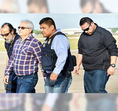 Former Mexican state governor extradited to South Texas from Italy