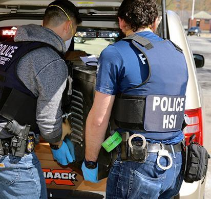 ICE HSI New York operation leads to arrests of 3 dozen Darknet vendors selling illicit goods, weapons, drugs seized and more than $23.6 million