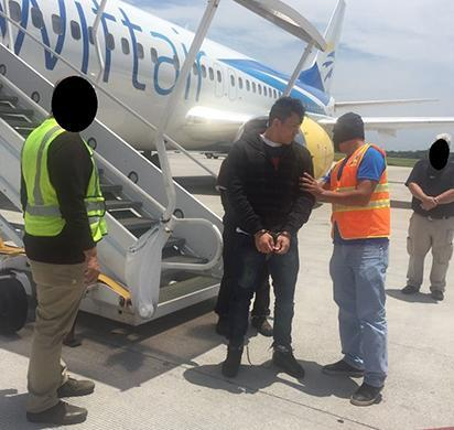 ICE removes human trafficking suspect wanted in El Salvador