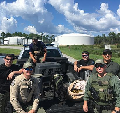 ICE ERO Miami, Tallahassee sub-office teams with Florida Fish and Wildlife