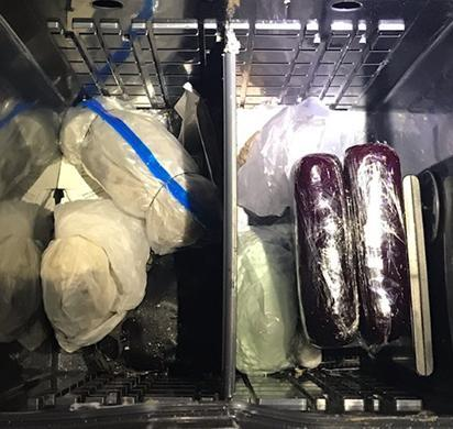 ICE HSI Phoenix BEST and local law enforcement disrupt hard narcotics smuggling attempt