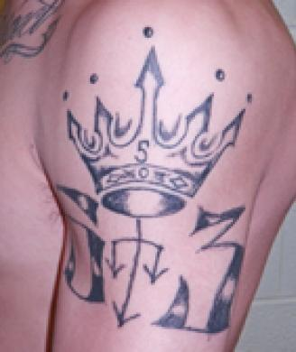 Latin King tattoo