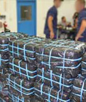 HSI, Caribbean Border Interagency Group seize 735 kilograms of cocaine, arrest 2