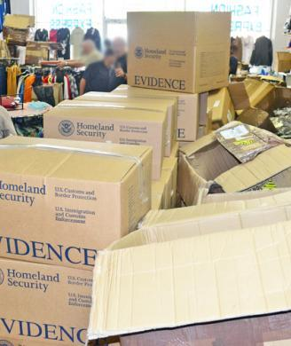 HSI seizes $1 million in counterfeit merchandise from Baton Rouge store
