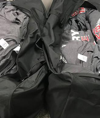 Counterfeit items seized in the enforcement operation