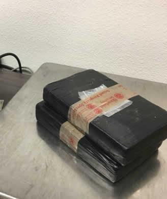 Five lbs. of cocaine was also seized in the enforcement action