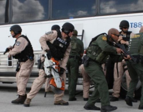 ICE and CBP agents training