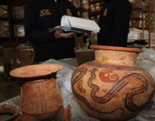 ICE returns artifacts to Panama