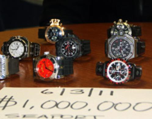 luxury watches and special cars