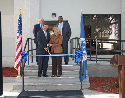 FLETC joint ribbon cutting ceremony