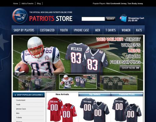 313 websites seized and 23 individuals arrested nationwide for selling counterfeit NFL merchandise
