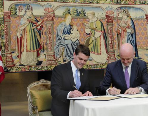 ICE returns stolen 16th century tapestry to Spain