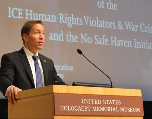 ICE commemorates 10th anniversary of the Human Rights Violators and War Crimes Program