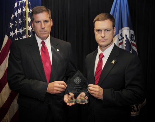 U.S. Immigration and Customs Enforcement employees receive Department of Homeland Security Secretary's Award for Valor