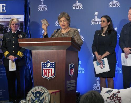 Federal agencies seize more than $19.5 million in fake NFL merchandise during 'Operation Team Player'