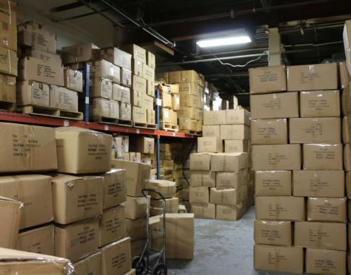 ICE HSI seizes thousands of counterfeit North Face jackets