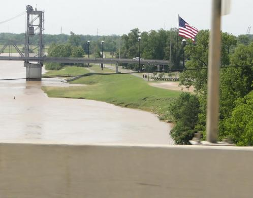 View of the Red River, Louisiana
