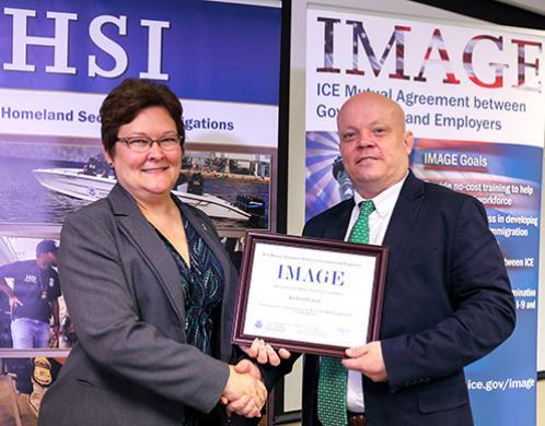 Rockwall first Texas county to receive ICE certificate as 'IMAGE' member