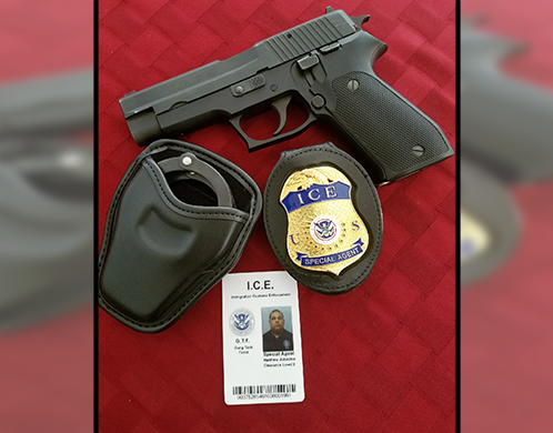 ICE agent impersonator who possessed destructive devices sentenced to 24-month imprisonment