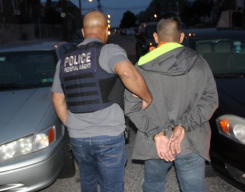 ICE operation targeting criminal aliens and immigration violators nets 49 arrests across Philadelphia